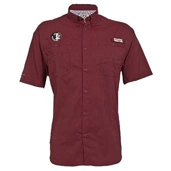 Columbia NCAA Mens Florida State Seminoles Collegiate Tamiami Shirt by Columbia