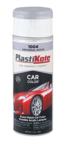 PlastiKote 1004 Universal White Automotive Touch-Up Paint - 11 oz. (2008 Toyota Yaris Paint compare prices)