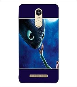 PrintDhaba Cute Boy D-1318 Back Case Cover for XIAOMI REDMI NOTE 3 (Multi-Coloured)