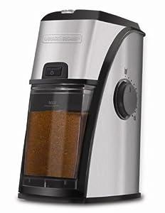 Black & Decker CBM210 Stainless Steel Burr Coffee Mill/Grinder by Black & Decker