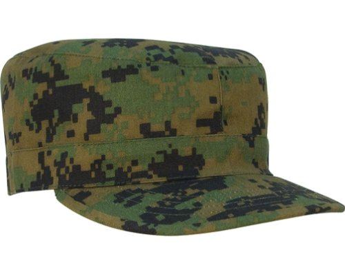 4524 ULTRA FORCETM WOODLAND DIGITAL CAMO FATIGUE CAP Army Universe ... 9f8dcf379dd