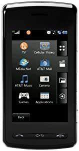 LG CU920 QuadBand Unlocked Phone with Touch Screen, MP3 Player and 2MP Camera - US Warranty - Black