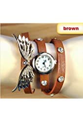 2014 new style fashion ladies watches wing rhinestone gold plated bracelet JEW SJA0846535262CO TYPE 3