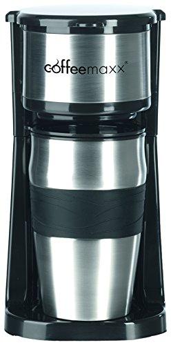 TV-Top-Ventes-06448-Coffeemaxx-Cafetire-pour-une-Personne-Inox