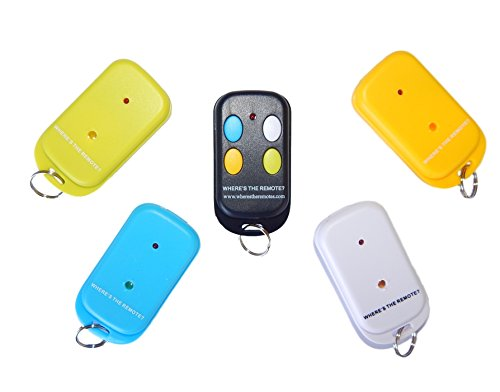 Where's the Remote? Key Finder Wireless Transmitter Rf remote Locator, Wallet, purse, Cell, Pet, items (Bluetooth Keychain Locator compare prices)