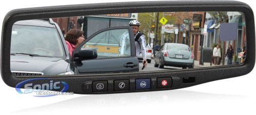 9002-9511A GM Factory Rear View Mirror with 3.5