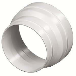 Xavax Reduzierstück für Dunstabzugshaube, Verkleinerung 125 auf 100 mm