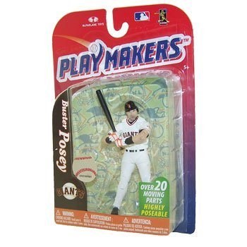 McFarlane Playmakers: MLB Series 4 Buster Posey - S.F. Giants 4 inch Action Figure by Unknown