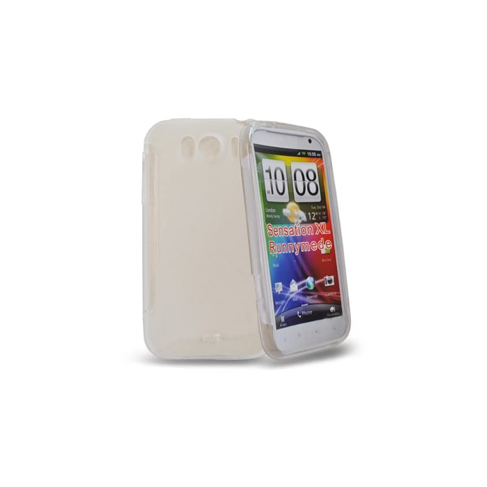 Mobile Palace   white Gel case cover pouch holster for htc