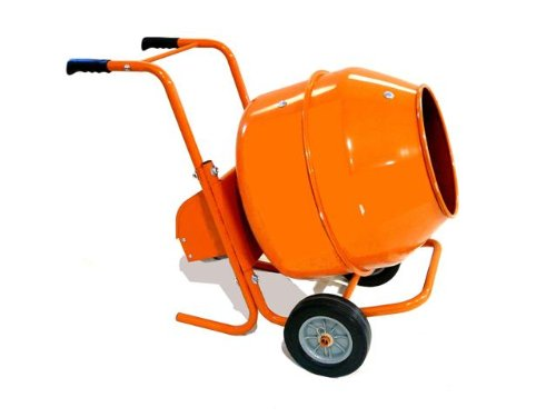Cement Mixer - Heavy-Duty 5 Cu Ft Wheelbarrow
