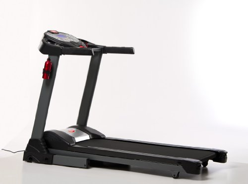 JTX Sprint5 folding motorised treadmill - 22kph - 20° incline - 2 year on-site warranty