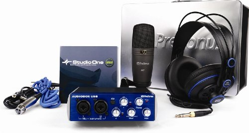 Presonus Recording Equipment Studio Package