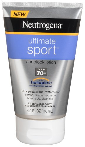 Neutrogena Ultimate Sport Sunscreen, Broad Spectrum SPF 70, 4 Ounce