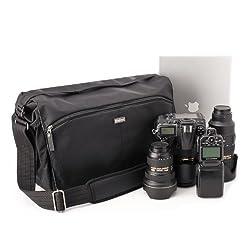Think Tank CityWalker 30 Messenger Bag, Black Nylon