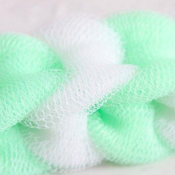 [3 Pcs/lot Loofah Flower Bath Ball Bath Tubs Cool Bath Belt Towel Scrubber Body Cleaning Mesh Shower Wash Sponge bath brush] (Loofah Costume Materials)