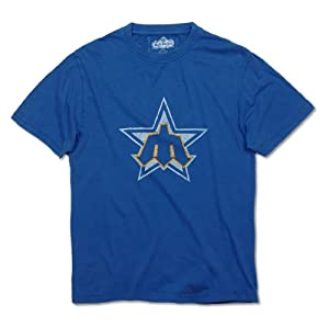 Seattle Mariners Brass Tacks Logo T-Shirt By Red Jacket by Red Jacket