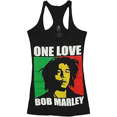 Bob Marley Women's One Love Womens Tank Black