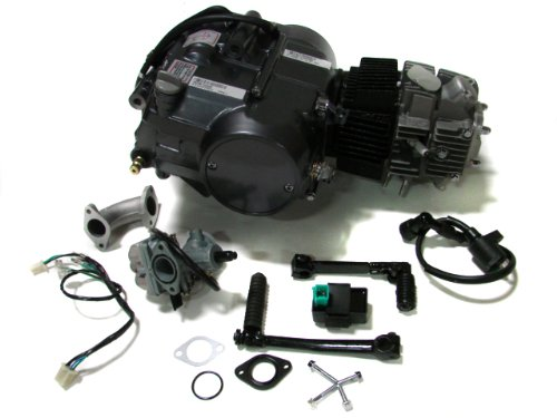 Lifan 125cc 1P52FMI-K Engine Dirt Bike Motor Carb Complete for Honda XR50 CRF50 XR CRF 50 70 ATC70 Z50 CT70 CL70 SL70 XL SDG Dirt Pit Bike Motorcycle