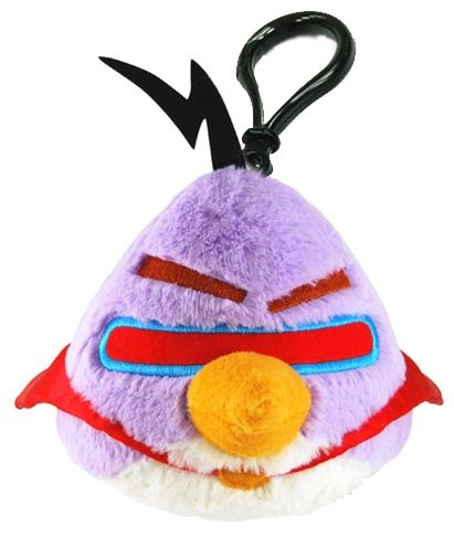 Angry Birds Space Purple Bird Backpack Cllip - 1