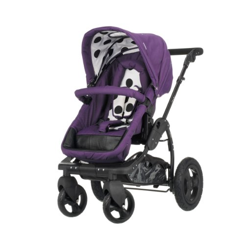 Obaby ZeZu Pramette (Purple Dotty)