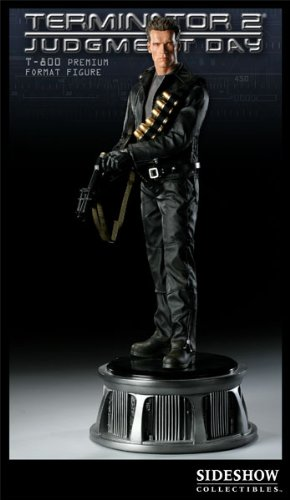 Picture of Sideshow Terminator T-800 Premium Format 1/4 Scale Figure (B002953V0A) (Sideshow Action Figures)