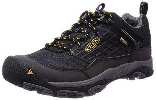 KeenSaltzman Wp - Scarpe da trekking e da passeggiata Uomo , Nero (Schwarz (Black/Keen Yellow)), 42.5