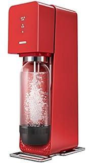machine a soda sodastream fizz rouge
