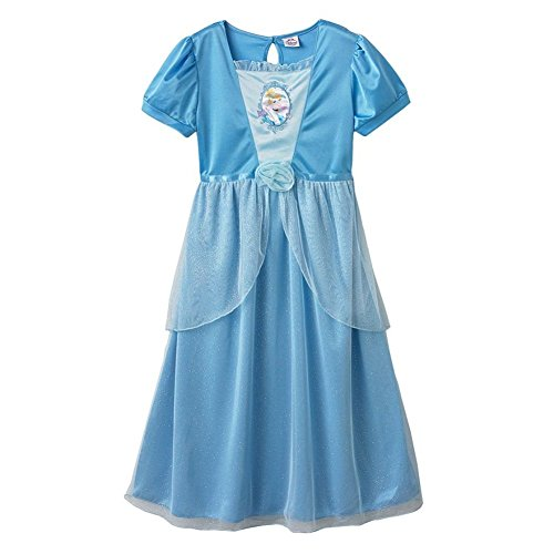 Disney Princess Little Girls' Cinderella Dress Up Nightgown