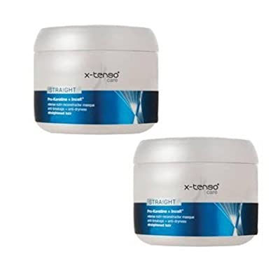 2 LOT X L'oreal Professionnel X-tenso Care Straight Masque (200 Ml X 2 )