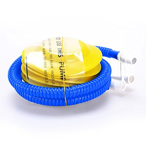 Eberry plastic bellows hand foot inflator pump for for Housse ballon yoga