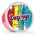 Zephyr 00-00000739 Kinetic Play Dough in containers Kinetic plasticise Modelling Clay Polymer Clay Could be Baked, Pink (Color: Pink)