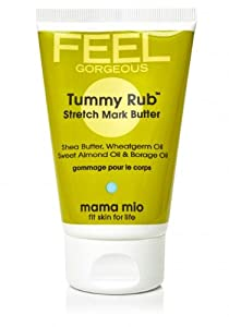 Mama Mio Tummy Rub Stretch Mark Butter, 4 oz, say NO to stretch marks!