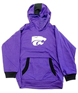 Officially Licensed by NCAA Kansas State Wildcats Pullover Youth Hoodie