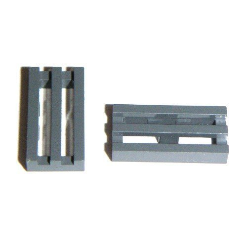 Lego Parts: 50 Medium Stone Gray Radiator Grilles