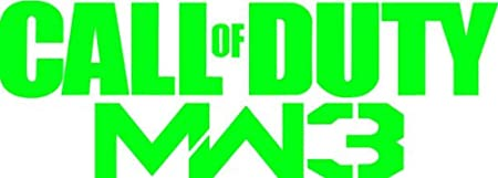 Call of Duty MW3 6 Inch Green Decal Sticker Xbox 360 Best Game Modern Warfare 3