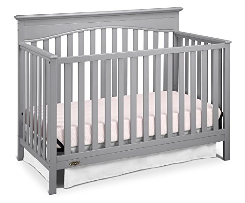 Discover Bargain Graco Hayden 4-in-1 Convertible Crib, Pebble Gray