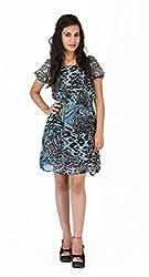 Modimania Women's Shift Multicolor Dress