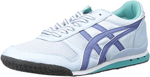 Onitsuka Tiger Women's Ultimate 81 Classic Running Shoe, Blue Bell/Blue Grass, 9.5 M US