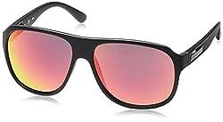 Fila Iridium Aviator Men's Sunglasses - (SF8948K59703RSG|59|Smoke with Red Mirror)