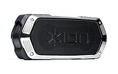 ION Audio Aquaboom - Waterproof Stereo Bluetooth Speaker with Built-in Microphone & Rechargeable Battery by Ion Audio - MI