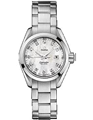 Inexpensive!! NEW OMEGA AQUA TERRA QUARTZ LADIES WATCH 231.10.30.61.55.001 Limited time