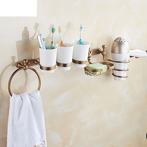 all-copper-antique-bathroom-shelving-rack-hair-dual-cup-toothbrush-cup-holder-soap-dish-network-towe
