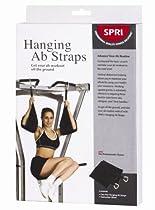 SPRI 8-Inch Hanging Ab Straps