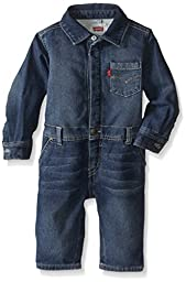 Levi\'s Baby-Boys Infant Knit Coverall Waverly, Waverly, 12 Months