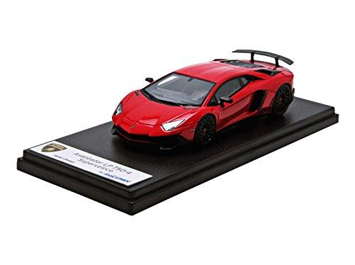LOOKSMART/ルックスマート 1/43完成品 ランボルギーニ アヴェンタドール LP750-4 Superveloce Rosso Bia (パールレッド) LS447A