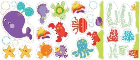 Brewster Home Fashions St99797 Fisher Price Ocean Wonders Wall Stickers front-14145