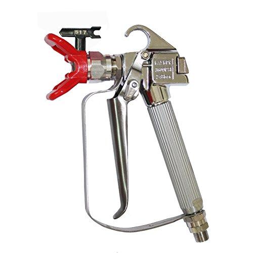 DUSICHIN DUS-036 Airless Paint Spray Gun, High Pressure 3600 PSI 517 TIP Swivel Joint (High Pressure Spray Paint compare prices)
