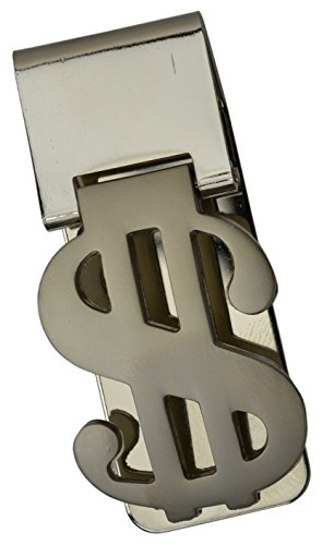 Dollar Sign Design Stainless Steel Money Clip