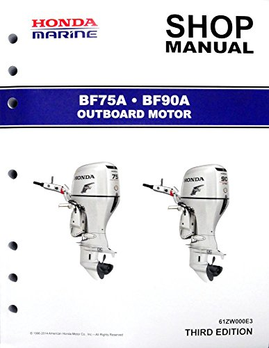 Honda bf75 bf100 bf8a outboard motor service and 50 similar items.