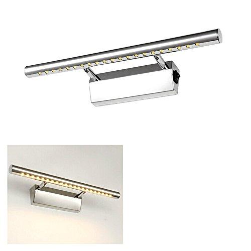 Cmyk 5w 21 led 5050 smd l mpara de pared para ba o espejo for Aplique para bano en acero inoxidable